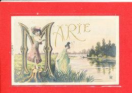 Prénom MARIE Cpa Animée     Edit Etoile - Prénoms