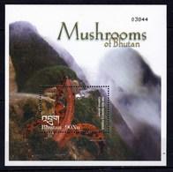 Bhoutan Feuillet Neu F** TT Bchampignon Anthurus Archeri - Pilze