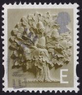 "GREAT BRITAIN GB England 2003 ""E"" Oak Sc#8 USED @U001 - Regional Issues"