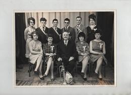 Photo Groupe 1965 Trompette  Le Donjon  Photographe Pajot - Ohne Zuordnung