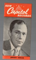 Catalogue De Disques NEW CAPITOL RECORDS  Sd (PPP16225) - Werbung