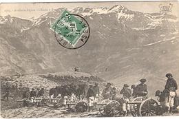 ARTILLERIE ALPINE L ECOLE A FEU ECRIS - Guerre 1914-18