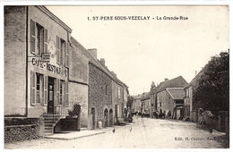 SAINT PERE SOUS VEZELAY (89) - La Grande-Rue - Ed. H. Couron, Avallon - Francia