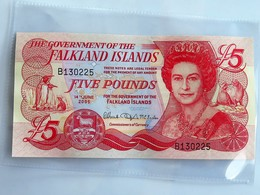 Billet Neuf : FALKLAND ISLANDS Five (5) Pounds, 14th June 2005 - Falkland Islands