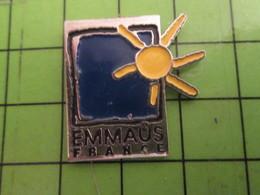 613F Pins Pin's / Rare & De Belle Qualité  THEME : ASSOCIATION / EMMAUS FRANCE - Associations