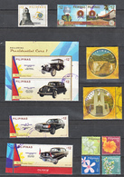 Filippine Philippines Philippinen Pilipinas 2018 Cars, Flowers, Ordinary 13 Stamps - USED - Filippine