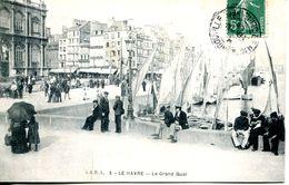 N°67664 -cpa Le Havre -le Grand Quai- - Port