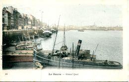 N°67670 -cpa Le Havre -grand Quai -remorqueur- - Remorqueurs