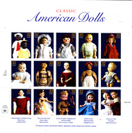 USA 2630 / 44 Poupées Américaines D'autrefois ( Feuille Complète ) - Hojas Completas