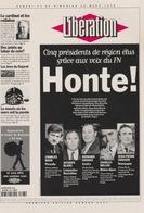 """18/12/ 174  -  LIBERATION  """"  HONTE  """"  - C. P. M. - Partis Politiques & élections"""