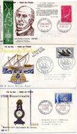 Lot 3 Enveloppes Premier Jour 1957 - FDC