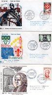 Lot 3 Enveloppes Premier Jour 1956 - FDC