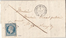 N° 15 ( 25 C.bien Margé-2 Voisins    /L  (. ) PC 3112   De ST HILAIRE DE SAINTONGE  / .2.54-> ST JEAN D'ANGELY  ( Pothi - 1849-1876: Période Classique