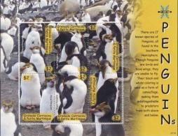MDB-BK4-079-2 MINT PF/MNH ¤ GRENADA & GRENADINES 2007 6w In Serie ¤ BIRDS OF THE WORLD OISEAUX BIRDS AVES VOGELS VÖGEL - Penguins