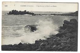 29 - CLEDER - Coup De Mer à Roc'h-an-Olenn - Cléder