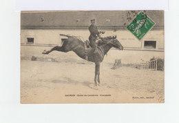 Saumur. Ecole De Cavalerie. Croupade. (3172) - Personnages
