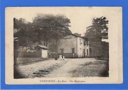 30 GARD - GAGNIERES La Gare, Vue Extérieure (voir Descriptif) - Autres Communes