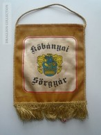 ZA139.1  Fanion Kőbánya Kőbányai Sörgyár Brewery Bier Beer Cervezza  Hungary  Dreher - Alcools