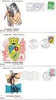 Lot 3 Enveloppes Premier Jour 1960 - FDC