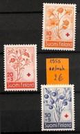NB - [815079]Finlande 1958 -  Nature, Fleurs - Végétaux