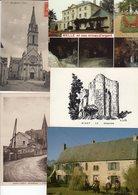 Lot De 10 Cartes Postales Des Deux Sèvres, Oiron, Saint Varent, Niort, Parthenay, Melle , Pas De Jeu - France