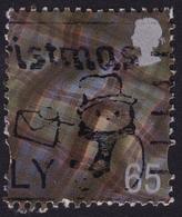 GREAT BRITAIN GB Scotland 1999-2002 65p Tartan Sc#18 USED @U003 - Regional Issues