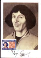 Nicolaus Copernicus Portrait   Maximum Card 1976 India - India