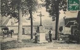 VENDRESSE (environs De Laon) - Place Du Calvaire. - Autres Communes