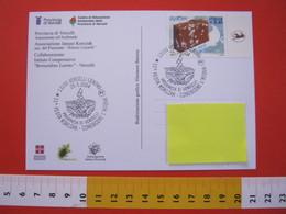 A.03 ITALIA ANNULLO - 2004 VERCELLI CONOSCERE L' ACQUA WATER FESTA KORCZAK DEI BAMBINI - Protection De L'environnement & Climat
