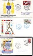 Lot 3 Enveloppes Premier Jour 1959 - FDC
