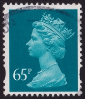 GREAT BRITAIN MACHIN 1997-2004 65p Sc#277 USED @Q311 - 1952-.... (Elizabeth II)