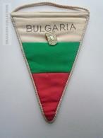 ZA139.3 Fanion Soccer  BULGARIA  - Silistra  Ca 1970 - Habillement, Souvenirs & Autres