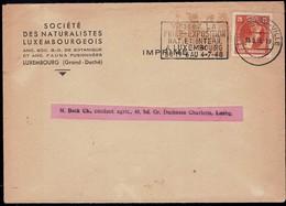 1945 Société Des Naturalistes Luxembourgeois, Michel: 349  20c - Luxembourg