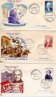 Lot 3 Enveloppes Premier Jour 1953 - FDC