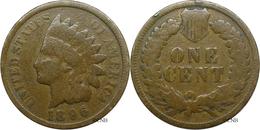 États-Unis - 1 Cent 1896 - VG - Mon3176 - Émissions Fédérales