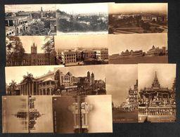 Lot 12 Vintage Postcards India Calcutta Kolkata - Cartes Postales