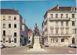 Chalon-sur-Saone: CITROËN AMI 6, SIMCA 1500, FORD ESCORT -Statue De Nicéphore-Niepce - (S.-et-L.) - Toerisme