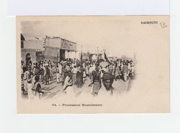 Djibouti. Procession Musulmane. (3176) - Afrique