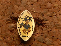 Pin's -  RUGBY - COUPE DU MONDE 1991 GRENOBLE - Rugby