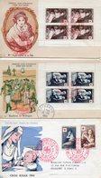 3 Enveloppes Premier Jour Croix Rouge  1953-1954 - FDC