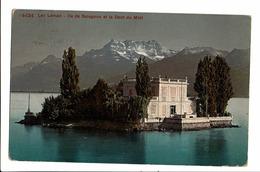 CPA - Cartes Postales-Suisse - Montreux-Île De Salagnonsur Le Lac Leman-1910-S3992 - VD Vaud