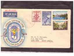 AUSFDC378    -    SYDNEY   31.10.1956.     ./    FDC  MICHEL NR.    266/269 - FDC