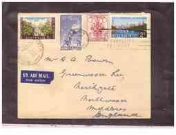 AUSFDC382    -    31.10.1956.     ./    FDC  MICHEL NR.   266/269 - Ersttagsbelege (FDC)