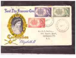 AUSFDC384    -    25.5.1953.     ./    FDC  MICHEL NR.   231/233 - FDC