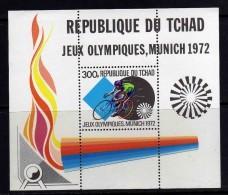 Tchad BF N° 13 XX Jeux Olympiques De Munich,  Le  Bloc Sans Charnière, TB - Tchad (1960-...)