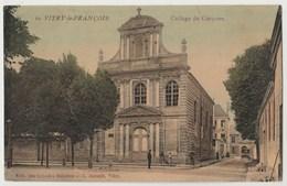 CPA 51 VITRY LE FRANCOIS Collège De Garçons - Pub Maisons Eug. JASSEDE - Vitry-le-François