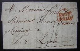 "1772 Dorchester Letter From Thomas Gould, ""Juge De Paix"" In French To Henry Scherer In France (Lyon) About Esayé Robert - 1701-1800: Précurseurs XVIII"