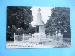 ARDENAIS - Le Monument Aux Morts De La Grande Guerre 1914-1918 - Autres Communes