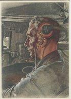 Germany  - Spendekarte. W.  Willreich: Der Panzerfahrer.  B-3247 - Unclassified