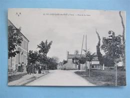 SAINT GERMAIN Du PUY - Rue De La Gare - Belle Animation - Philatélie En 1915 - Autres Communes